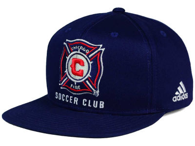Chicago Fire adidas MLS XL Basic Snapback Cap