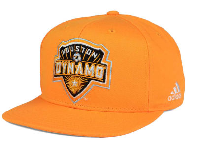 Houston Dynamo adidas MLS XL Basic Snapback Cap