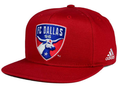 FC Dallas adidas MLS XL Basic Snapback Cap