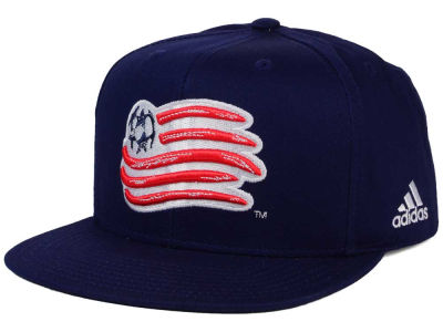 New England Revolution adidas MLS XL Basic Snapback Cap