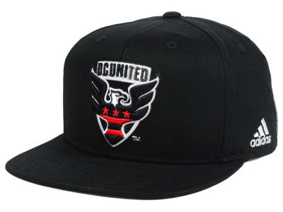 DC United adidas MLS XL Basic Snapback Cap