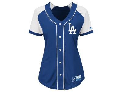 Los Angeles Dodgers MLB Women's Fashion Replica Jersey 2016