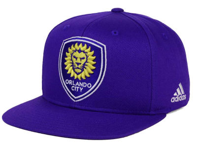 Orlando City SC adidas MLS XL Basic Snapback Cap