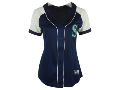 Seattle Mariners MLB Women's Fashion Replica Jersey 2016
