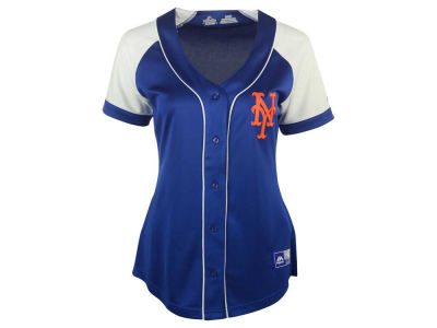 New York Mets MLB Women's Fashion Replica Jersey 2016