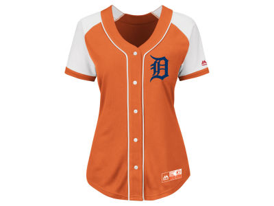 Detroit Tigers MLB Women's Fashion Replica Jersey 2016