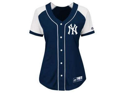 New York Yankees MLB Women's Fashion Replica Jersey 2016