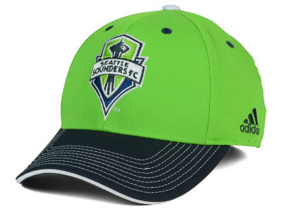 Seattle Sounders FC adidas MLS 2 Tone Team Flex Cap