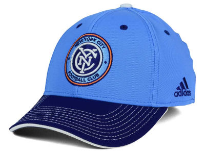 New York City FC adidas MLS 2 Tone Team Flex Cap