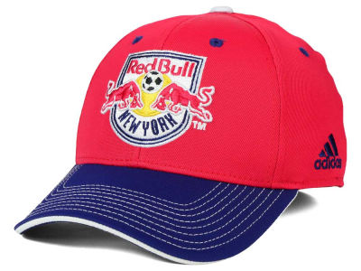 New York Red Bulls adidas MLS 2 Tone Team Flex Cap