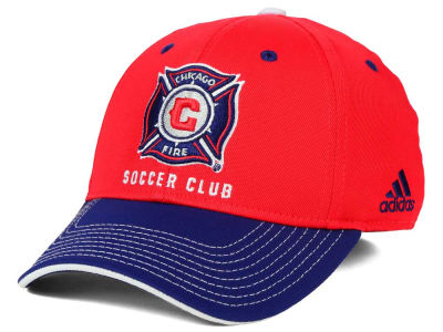 Chicago Fire adidas MLS 2 Tone Team Flex Cap