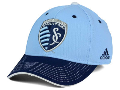 Sporting Kansas City adidas MLS 2 Tone Team Flex Cap