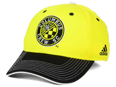 Columbus Crew SC adidas MLS 2 Tone Team Flex Cap