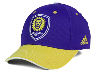 Orlando City SC adidas MLS 2 Tone Team Flex Cap