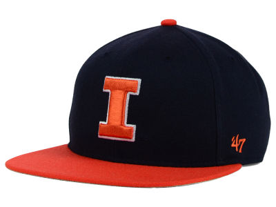 Illinois Fighting Illini '47 NCAA Youth '47 Lil Shot Captain Cap
