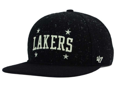 Los Angeles Lakers '47 NBA Hail Storm Snapback Cap