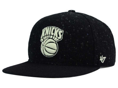 New York Knicks '47 NBA Hail Storm Snapback Cap