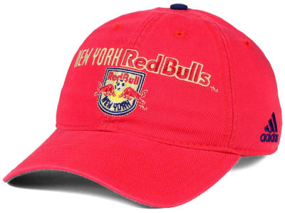 New York Red Bulls adidas MLS Performance Slouch Adjustable Cap