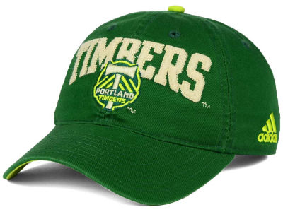 Portland Timbers adidas MLS Performance Slouch Adjustable Cap