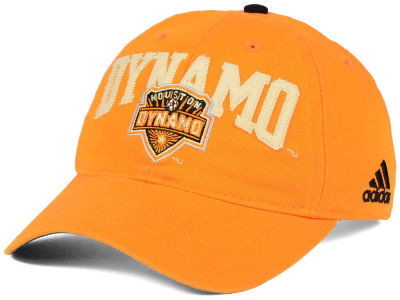 Houston Dynamo adidas MLS Performance Slouch Adjustable Cap