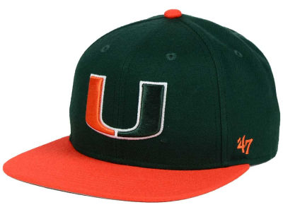 Miami Hurricanes '47 NCAA Youth '47 Lil Shot Captain Cap