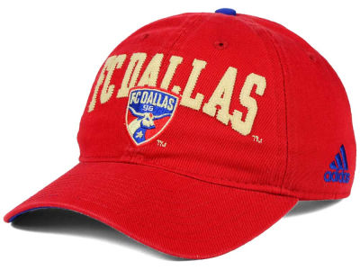 FC Dallas adidas MLS Performance Slouch Adjustable Cap