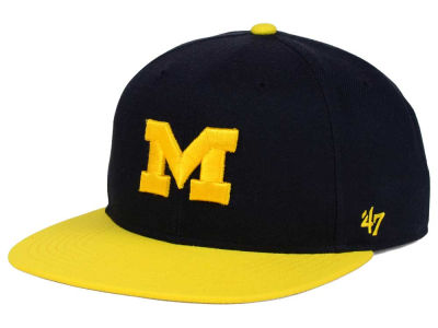 Michigan Wolverines '47 NCAA Youth '47 Lil Shot Captain Cap