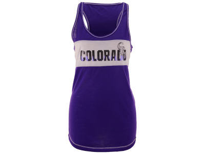 Colorado Rockies MLB Women's Gametime Glitz Tank