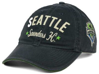 Seattle Sounders FC adidas MLS Chain Stitch Adjustable Strapback Cap
