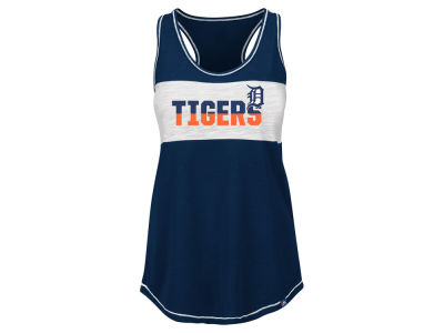 Detroit Tigers MLB Women's Gametime Glitz Tank