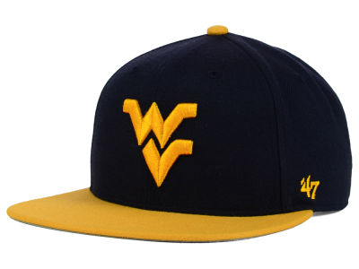 West Virginia Mountaineers '47 NCAA Youth '47 Lil Shot Captain Cap