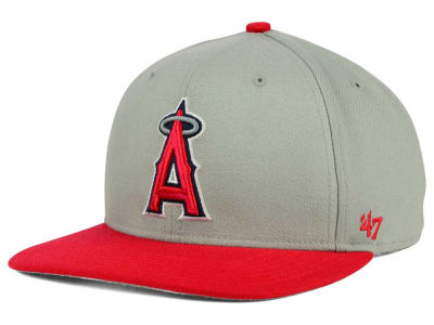 Los Angeles Angels '47 MLB '47 Gray Sure Shot Snapback Cap