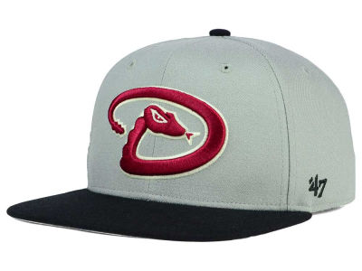 Arizona Diamondbacks '47 MLB '47 Gray Sure Shot Snapback Cap