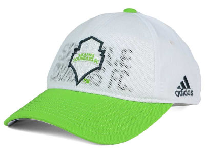 Seattle Sounders FC adidas MLS Women's Authentic Adjustable Cap