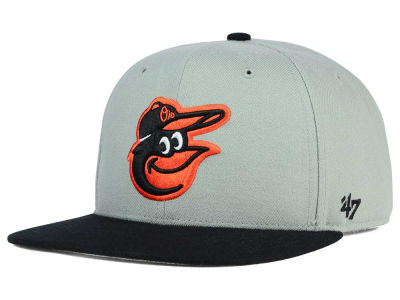 Baltimore Orioles '47 MLB '47 Gray Sure Shot Snapback Cap