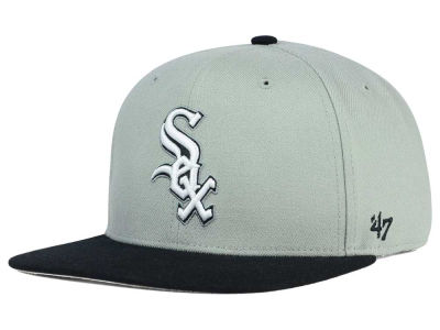 Chicago White Sox '47 MLB '47 Gray Sure Shot Snapback Cap