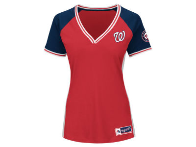 Washington Nationals MLB Women's League Diva T-Shirt