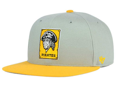 Pittsburgh Pirates '47 MLB '47 Gray Sure Shot Snapback Cap