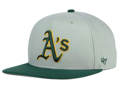 Oakland Athletics '47 MLB '47 Gray Sure Shot Snapback Cap