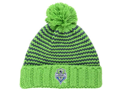 Seattle Sounders FC adidas MLB Women's Jacguard Pom Knit