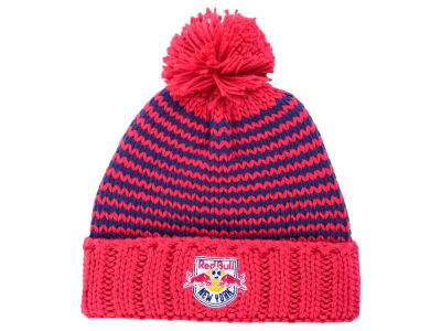 New York Red Bulls adidas MLB Women's Jacguard Pom Knit
