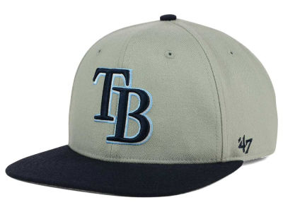 Tampa Bay Rays '47 MLB '47 Gray Sure Shot Snapback Cap