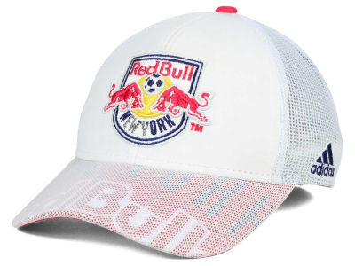 New York Red Bulls adidas MLS Goalie Vize Adjustable Cap