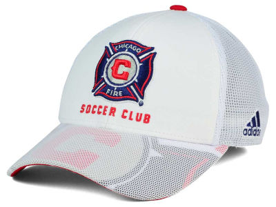 Chicago Fire adidas MLS Goalie Vize Adjustable Cap