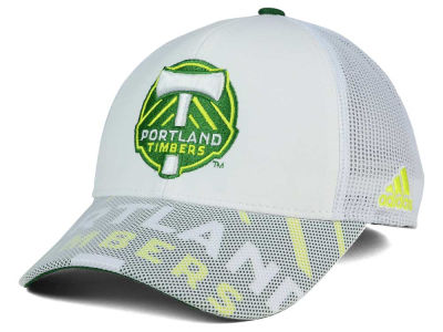 Portland Timbers adidas MLS Goalie Vize Adjustable Cap