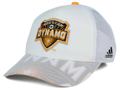 Houston Dynamo adidas MLS Goalie Vize Adjustable Cap
