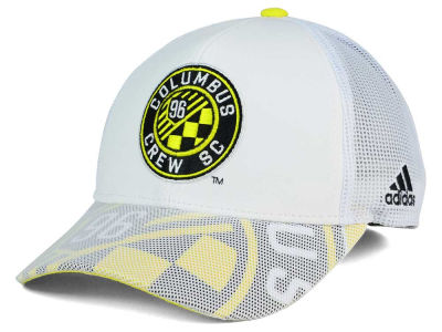 Columbus Crew SC adidas MLS Goalie Vize Adjustable Cap