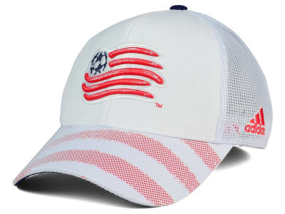 New England Revolution adidas MLS Goalie Vize Adjustable Cap