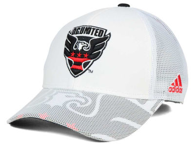 DC United adidas MLS Goalie Vize Adjustable Cap
