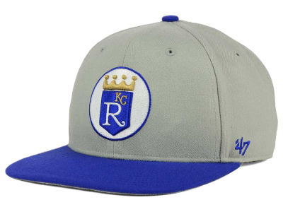 Kansas City Royals '47 MLB '47 Gray Sure Shot Snapback Cap